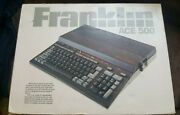 Extremely Rare Packaged Franklin Ace 500 Computer - Boots And Computes