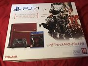 Metal Gear Solid V The Phantom Pain Limited Edition Ps4 Console