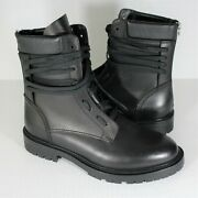 Amiri Army Combat Leather Boots Mens 42 Us 9 New N471