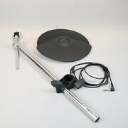 Roland Cy-8 Dual Trigger Cymbal And Boom Cymbal Arm And Rack Clamp V-drum And Wire