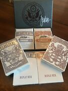 Kings Wild Independence Set - Crown And Continental Limited Edition 3 X Signed