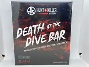 Hunt A Killer Death At The Dive Bar Immersive Murder Mystery Game New And Sealed