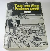 Caterpillar Cat Tools And Shop Products Guide Manual Book Catalog 1998 Oem