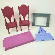 Disney Frozen 2 Fold And Go Arendelle Castle Parts Table And Chairs Barbie Doll +