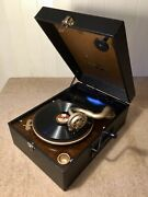 A Quality Columbia/hmv Merger Windup Portable Gramophone C1939fully Serviced.
