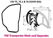 For Vw Transporter T5.1 And T6 Front Door Seal - Fits Both Sides