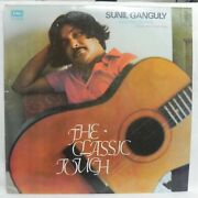 Sunil Ganguly Lp Vinyl Record The Classic Touch Instrumental Bollywood Tunes Nm