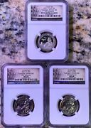 2021 P D Tuskegee Airmen Quarter 25c Ngc Ms68 And S Pf70 First Releases 3 Coin Set