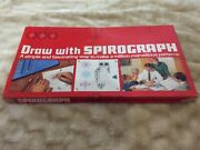Vintage 1960s Spirograph By Denys Fisher Complete Apart From Paper2pens