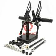 Fxcnc Cnc Front Footpegs For 2014 1199 Superlegger 1199 Panigale R Black