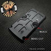 Rmr To Rmsc Adapter Plate Gen 4 Rounded Bottom Boss Cutouts/no Top Bosses