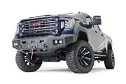 Warn Ascent Hd Front Bumper No Grille Guard For 20-22 Sierra 2500/3500hd 107177