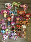 Large Collection Of 12 Large Lalaloopsy Dolls And Accessories