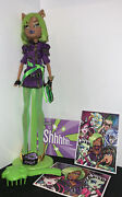 2011 Monster High Dawn Of The Dance Clawdeen Wolf Doll And Accessories Complete