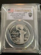 2019 W 100 Proof Platinum Eagle Pcgs Pr70 Dcam First Strike First Day Of Issue