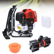 52cc Backpack Brush Cutter Hedge Trimmer Efficient Trimming Tools 1.25kw/1.7hp