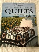 More Quick Rotary-cutter Quilts By Pam Bono 1997 Trade Paperbackquilting