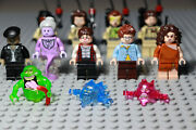 Lego Ghostbusters Minifigures Lot Complete Set Of All 12 - Firehouse - 75827