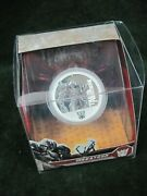 2009 Tuvalu 1 Silver Colorized Transformers Megatron 1 Ounce Coin