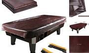 Leather Pool Table Cover - Billiards Pool Table Accessories Set Premium 9ft