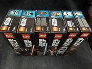 Lego Star Wars Buildable Figures 75113 75114 75115 75116 75117 75118 New Sealed