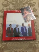 The Rose Red 3rd Single Album Unsealed Oop With Group Jaehyung Photocard Kpop