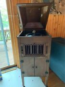 1926 Aeolian Volcaloin Antique Victrola 78 Rpm Wind Up Phonograph Record Player