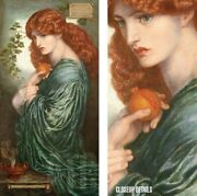 20wx40h Boreas, The North Wind By John William Waterhouse - Choices Of Canvas