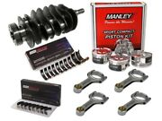 Forged Internals Stroker Kit With Manley King Racing And Subaru For 1998+ Ej205