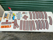 1988 Playskool Express Train Track Lot Tracks And Parts 30 Pieces Vintage 80s