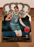 Lamelo Ball And Anthony Edwards 20-21 Crown Royale Silver Base Rookie Cards Rc