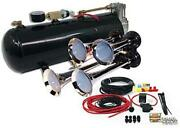 Mpc B1 0419 4 Trumpet Train Air Horn Kit Fits Almost Any Vehicle Truck Car