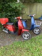 Suzuki Cl50 Love Pair 1983 And 1984 A And B Reg Red And Blue