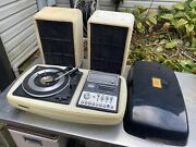 Vtg Brother Primus Ii Am/fm 8 Track Tape Recorder Player Swag Rare 1970s Stereo