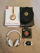 Beats Solo 3 Wireless Gold With Original Box And Case