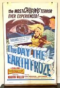 Classic Vintage Film Group Inc 1963 The Day The Earth Froze Movie Poster