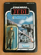 Star Wars Return Of The Jedi Carded At-at Commander Vintage Unpunched