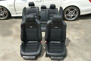 2011 W212 Mercedes E63 Amg E550 Dynamic Heated And Cooled Complete Blk Seat Seats