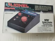 Empty Box For Lionel Mw Solid State Transformer 0 And 027 Guage