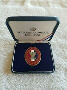 Boy Scouts Of America Eagle Scout Engravable Coin W/ Box Great Eagle Scout Gift