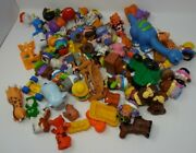 Lot Fisher Price Little People 2and039and039 Figures Girl Boy Dolls Disney Animals