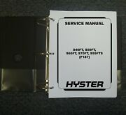 Hyster F187 S40ft S50ft S60ft Gas Forklift Lift Truck Shop Service Repair Manual