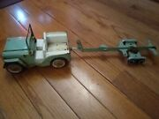 Vintage Tonka Diecast Jeep With Trailer | Antique Collectible Restoration