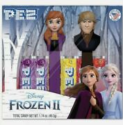 Pez Candy Disney Frozen 2 Gift Set Anna And Kristoff New Sealed Collectibles