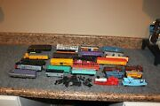 Lot-28+ Ho Train Engines Box Cars Caboose Parts More Winter Project