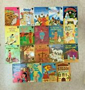 B57 Vtg Lot Of 125 Arch Books Bible Stories Old And New Testaments Pb Illustrated
