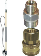 Electric Pressure Washers Quick Connect Components Connectors For Telescoping