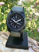 Bertucci A-2s Ballista Black Stainless Case And Olive Drab Band