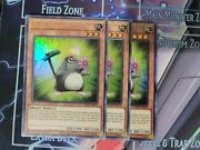 Yugioh Mine Mole X3 1st Edition Ultra Rare Gftp-en078 Ghost From The Past