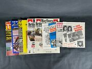 Lot Of Vintage British Motorcycle Racing Programs And Magazines